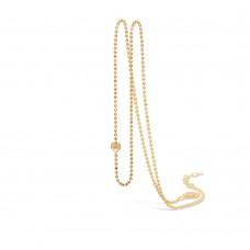 Blossom Halsband kulkedja silver förg 52+3cm