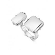 Lars Wallin ring Galaxy 2 Baguette silver strl 17