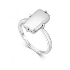 Lars Wallin ring Galaxy Baguette silver strl 17