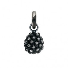 Ole Lynggaard Sweet Drops Charm Blackberry/Silver/7x0,01 ct. TW.VS.