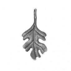 Ole Lynggaard Forest Oak Leaf Ox.Silver