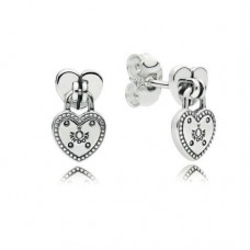 PANDORA Heart Padlock Silver